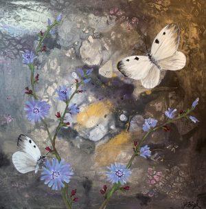 Akrylmålningar
