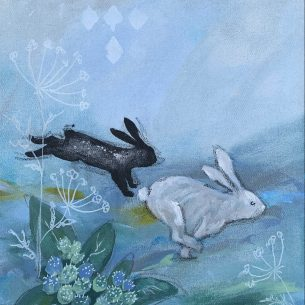 Kaninliv blå 1