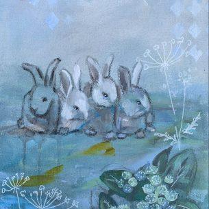 Kaninliv blå 3