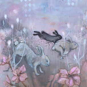 Kaninliv rosa 1