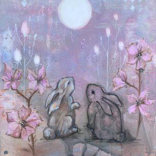 Kaninliv rosa 2